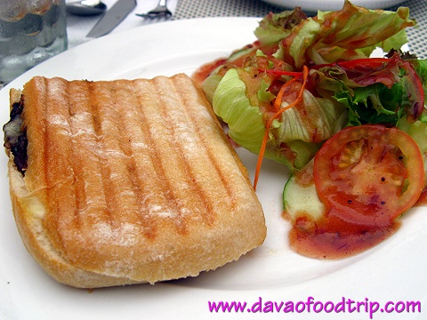Salutti's Asian Beef Panini