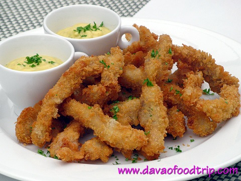 Salutti's Chicken Fingers with Honey Mustard Dip