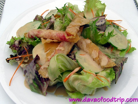 Salutti's Kani Salad with Japanese Dressing